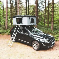 Extra Large Roofbunk Hard Shell Car Roof Top Tent - Dark Grey Material