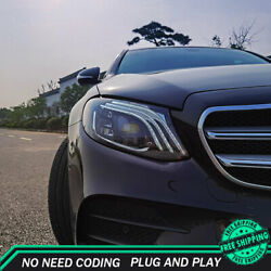 For Benz W213 Headlights 2016-2020 Full Led Projector Led Drl Turn Signal