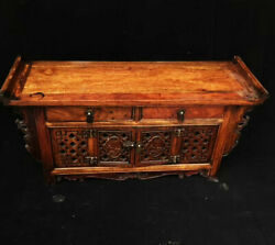 23.2and039and039 China Antique Long Table Natural Rosewood Wood Table Tea Table Fhk