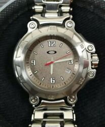 Crankcase Brushed Sand Dial Watch Mm Doubletap Minute Machine Timebomb