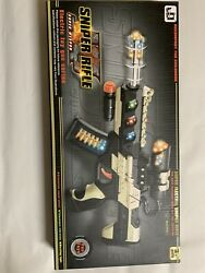 "Super Electric Sniper Rifle Dazzling Lighting Sound Effect amp; Vibration ""A"""