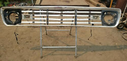 1963 Ford Pickup F100 Unibody Front Grille Panel Aluminum. Used Ad 9058