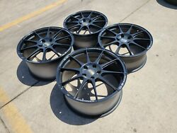 20 Chevy Camaro Ss Oem Staggered Wheels Rims Black 5940 5878 2019 2020 2021 New