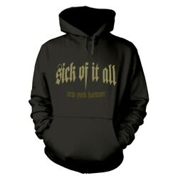 Sick Of It All Panther Official Hoodie Hooded Top