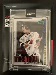 Topps Project 2020 Card 18/20 Mike Trout 85 Artist Proof By Jacob Rochester