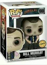 Funko Pop Movies Zombieland - Bill Murray 1000 49109 Chase In Stock