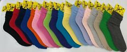 Slouch Socks Scrunch Hooters Socks Size Womenand039s 9-11 Girland039s 6-8 Free Shipping