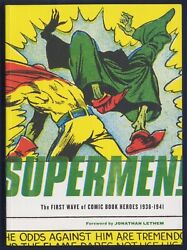 SUPERMEN—First Comic Book Heroes 1936 41 20 FULL COLOR Stories 9 Covers 1st