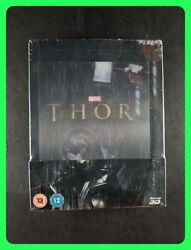 Thor [zavvi Lenticular Exclusive Limited Edition Steelbook] 2015, Blu-ray 3d [