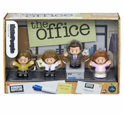 THE OFFICE Fisher Price Little People Jim Pam Dwight Michael Set of 4 PREORDER $59.99