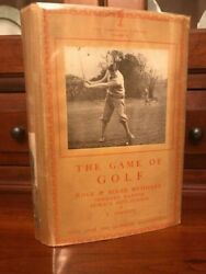 Rare 1931 Lonsdale Library Volume Ix The Game Of Golf W/ Original Dust Jacket