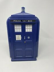 Doctor Who Tardis Mini Fridge Dorm Refrigerator Cooler amp; Warmer 6 Can Capacity