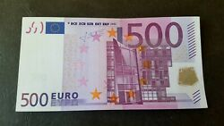 Germany 500 Euro 2002 X-serie R020. Trichet Sign Ultra Rare