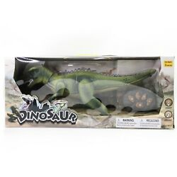 Remote Control Dinosaur for Kids with Light Up Eyes and Roaring Sound Walking $12.00