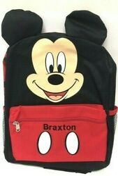 Personalized Backpack Personalized Mickey Backpack Mickey Mouse Backpack 12quot; $25.99