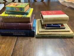 Vintage And Antique Book Lot 13 Total