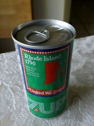 Rhode Island 7-up Soda Error Can Pull Tabs Both Ends Never Opened Or Filled