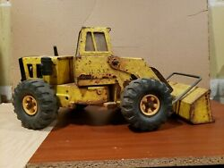 Vintage Mighty Tonka Front End Loader Toy Construction Truck 1970's