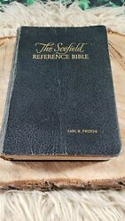 The Scofield Reference Edition Bible - Kjv - 1945 - Leather