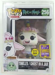 Rick And Morty - Tinkles/ghost In A Jar 256 - Funko Pop Free Hard Pop Protector