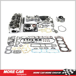 Head Gasket Bolts Timing Chain Oil Water Pump For 85-95 Toyota 4runner Pickup2.4