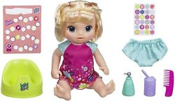 Baby Alive Potty Dance Blond Baby Doll Sounds, Phrases And Songs English And Spanish