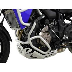 Yamaha Mt-07 Tracer Yr 16-19 Zieger Fall Protection Hoop Guard Frame Silver