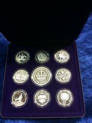 1998 Masterpieces In Silver .999 Ram Proof Coins Of The 20th Century Milestones
