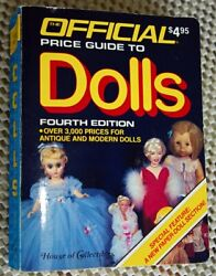 Official Price Guide To Dolls Fourth Edition 1986 Antique Dolls Modern Dolls