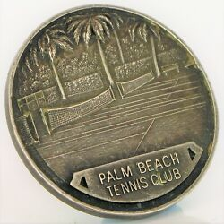 1926 Sterling Silver Palm Beach Tennis Club Round Robin Tournament Jerome Lang