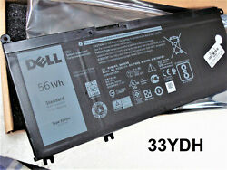 Original Oem 56wh Battery For Dell Latitude 13 3380 3480 3580 3590 3490 33ydh