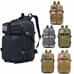 40L Neutral Mountain Military Tactical Backpack Assault Pack Rucksack Hiking Bag $22.99