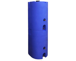 160-320 Gallon Water Storage Tank Container Large Plastic Water Barrel Drum