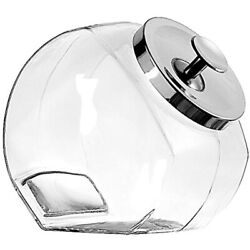 Penny Candy Glass Jar Storage Container Lid 1 Gallon Set Of 2 - 12279ecom