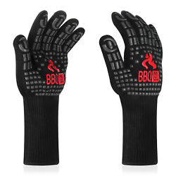 Inkbird Insulated Kitchen Oven Mitts Cooking Heat Resistant Gloves Grilling Bbq