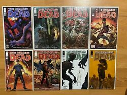 Walking Dead 1 Variant Lot Of 8 Great Condition