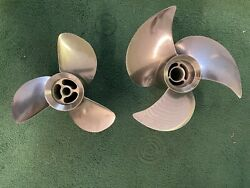 Volvo Penta Stainless Steel F2 3-blade Duo Props 3857558 And 3857557