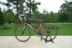 2010 Trek Madone 4.5andnbsp 56cm Red Black White. Andnbspmens Lightly Used