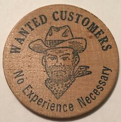 Dixie Doodle Sales Wanted Wooden Nickel New Orleans Mardi Gras Wood Doubloon