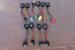 New 1967 Lincoln Window Switch Set Of 10 Switches Brand New