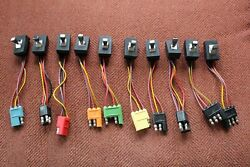 New 1966 Lincoln Window Switch Set Of 10 Switches - Brand New