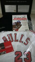 Michael Jordan Mitchell And Ness Rookie Jersey- Moment Game Changed- New- Size L