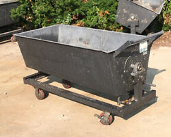 Steel Dump Cart With Handle Used