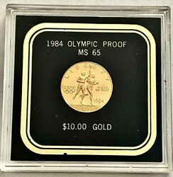 U.s. Olympiad Xxiii 10.00 Gold Coin- Ms65, Please See Other Gold Coins,jewelry.