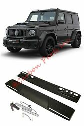 W464 W463a Front Roof Spoiler Hella Led Brabus Style Mercedes-benz G-class 2019+