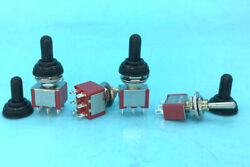 M6 3pin/6pin Waterproof Momentary Mini Toggle Switch Cap On-off-on 250/125v