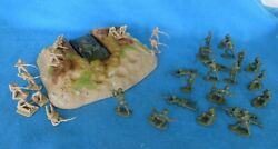Classic Toy Soldiers Wwii Attack On Dug-in Chi Ha Position 54mm