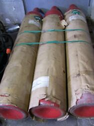Used Ansul 100 Lb Carbon Dioxide Cylinders P/n 79823 W Cv90 Valve Lot Of 3