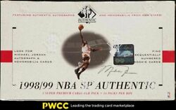 1998-99 Sp Authentic Basketball Factory Sealed Hobby Box, 24ct Packs