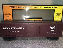 Mth Pennsylvania 6464-1954 Box Car Signed By Mike Wolf Owner Of Mth 2004 Tca